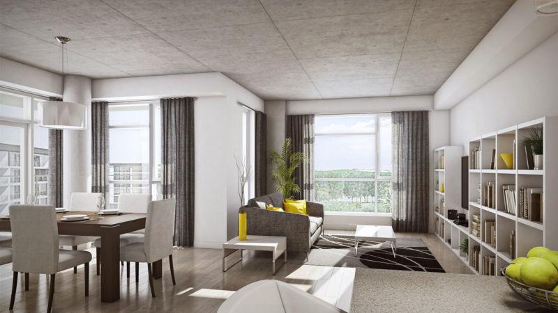 Salon d'un appartement Loges Saint-Nicolas