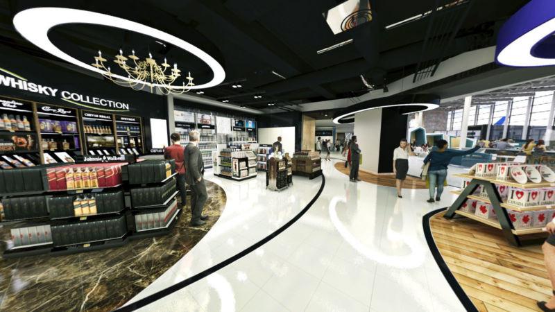 Boutique hors-taxe de l'aéroport YQB