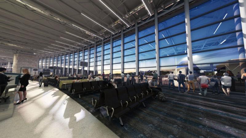 Image 3D de l'aéroport YQB