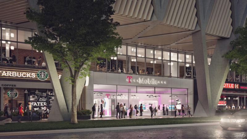 Image 3D du projet Miami Central