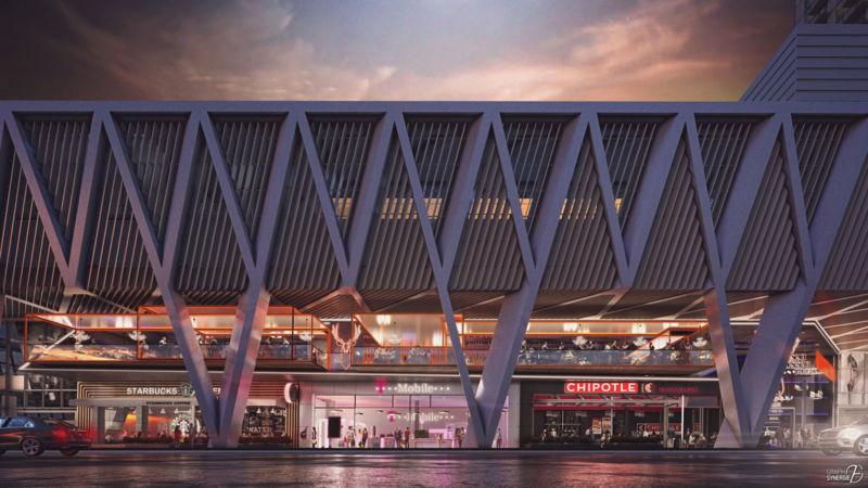 Image extérieure du projet Miami Central