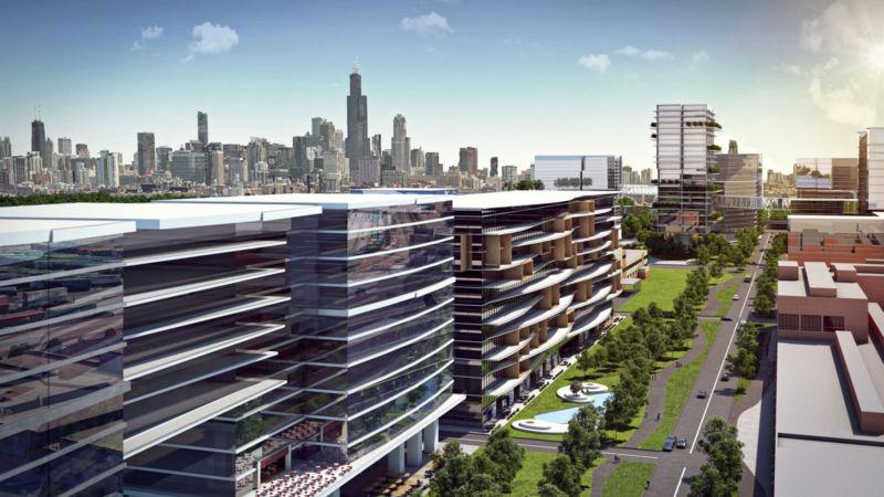 Perspective du projet IMD chicago