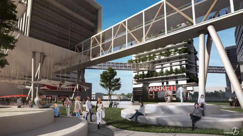 Image 3D du projet IMD chicago